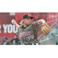 Arkansas Travelers pitcher Darren McCaughan
