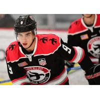 Defenseman Michael Ferrandino with the Waterloo Black Hawks
