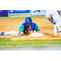 Lexington Legends slide safely back to base