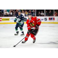 Joachim Blichfeld of the Portland Winterhawks