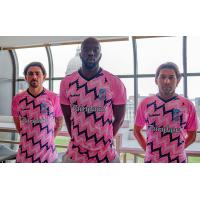 Forward Madison FC's new pink patterned kit