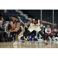 Halifax Hurricanes defend against the Moncton Magic