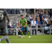 Cristian Roldan's 42nd-minute goal secured Seattle Sounders FC's road point against Minnesota United FC
