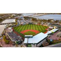 R Associates Field At Jackie Robinson Ballpark, home of the Daytona Tortugas