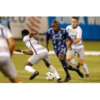 Sacramento Republic FC defends against Fresno FC