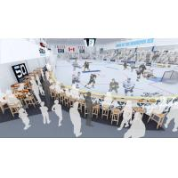 Wayne Fleming Arena rendering of party lounge
