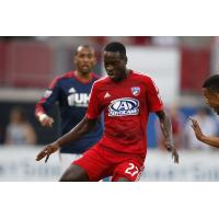 Je-Vaughn Watson with FC Dallas