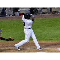 Rey Navarro of the Somerset Patriots