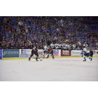 Sioux Falls Stampede battle the Chicago Steel