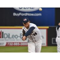 Somerset Patriots pitcher Brett Oberholtzer