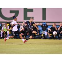 Pablo Cruz of Las Vegas Lights FC received the opportunity to play Cal FC, his former team