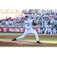 Pensacola Blue Wahoos pitcher Sean Poppen