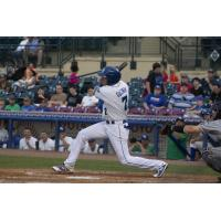 Jeison Guzman of the Lexington Legends at bat