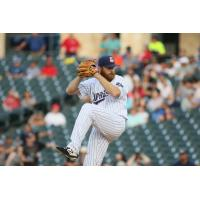 Round Rock Express pitcher Cy Sneed