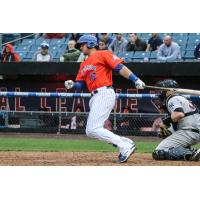 Travis Taijeron had four RBIs and three hits, including a home run on Saturday night for the Syracuse Mets