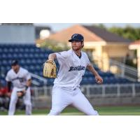 Pensacola Blue Wahoos pitcher Charlie Barnes