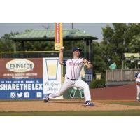 Lexington Legends pitcher Jon Heasley