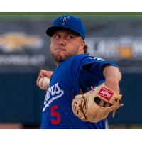 Tulsa Drillers starting pitcher Parker Curry