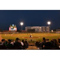 The view at Fifth Third Field, home of the Dayton Dragons