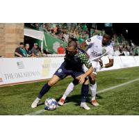 Jon Brown with OKC Energy FC