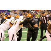 Connor Flagel of the Arizona Rattlers vs. the Tucson Sugar Skulls
