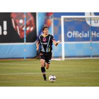 Dejan Jakovic made his Las Vegas Lights FC debut by being in the Starting XI and playing the full match