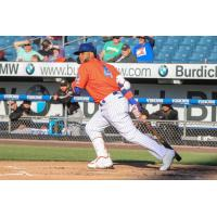 Robinson Cano of the Syracuse Mets had three hits, including two doubles and an RBI single on Tuesday night
