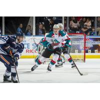 Kelowna Rockets in action