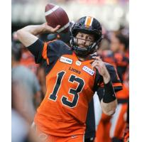 BC Lions quarterback Mike Reilly
