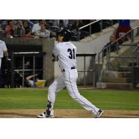Ramon Flores of the Somerset Patriots