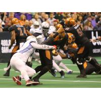 Arizona Rattlers struggle for yards vs. the San Diego Strike Force