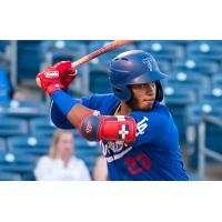 Cristian Santana accounted for 2 of the Tulsa Drillers' 12 hits in Tuesday's win over Frisco at ONEOK Field