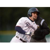 Outfielder/infielder Dario Pizzano with the Tacoma Rainiers