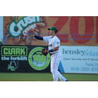 Brhet Bewley of the Lexington Legends