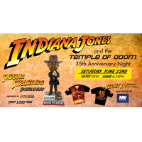Potomac Nationals' Indiana Strasburg bobblehead