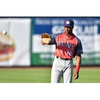 Armond Upshaw of the Hagerstown Suns drove in five runs in the game, the most for a Suns player since June 16, 2018
