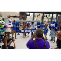 Hartford Yard Goats welcome one millionth fan