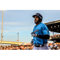 George Springer with the Corpus Christi Hooks