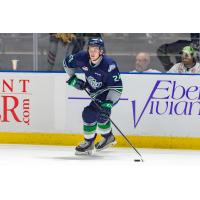 Defenceman Jake Lee with the Seattle Thunderbirds