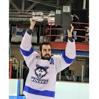Phil Bronner with the Watertown Wolves