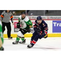 Forward Sergei Alkhimov with the Regina Pats