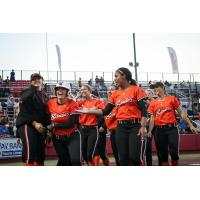 Chicago Bandits celebrate at home
