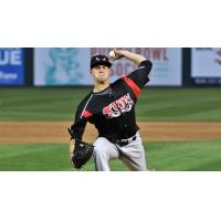 MacKenzie Gore pitching for the Lake Elsinore Storm