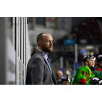 Everett Sheenm head coach of the Idaho Steelheads