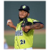 Columbia Fireflies pitcher Simeon Woods-Richardson