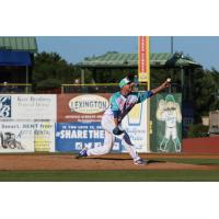 Lexington Legends pitcher Evan Steele