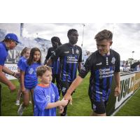 Colorado Springs Switchbacks FC enter the pitch