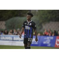 Colorado Springs Switchbacks FC right winger Shane Malcolm