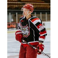 Forward Matyas Kasek with the Port Huron Prowlers