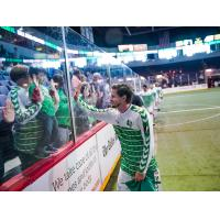 Dallas Sidekicks forward Cameron Brown